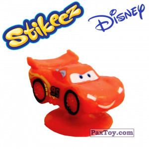 PaxToy.com - 07 Lightning McQueen из Simply Market: Disney Micro Popz (Stikeez)