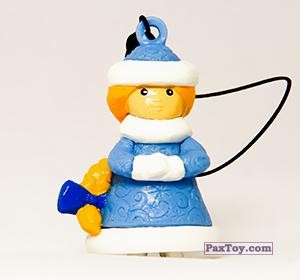 PaxToy.com - 07 Снегурка из Choco Balls: Новогодняя Коллекция 2014