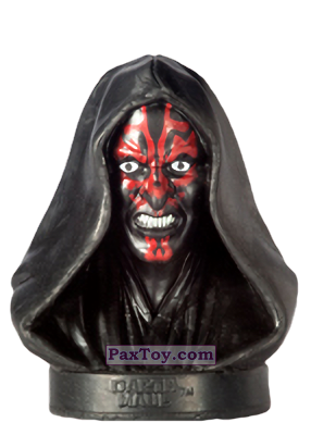 PaxToy.com - 08 Darth Maul из Billa: Star Wars Stempel