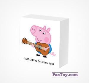 PaxToy.com - 09 Ластик из Choco Balls: Свинка Пеппа. Зима