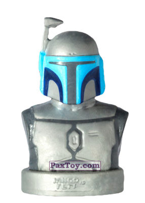 PaxToy.com - 10 Jango Fett из Billa: Star Wars Stempel