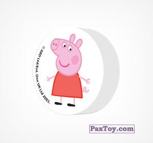 PaxToy.com - 10 Ластик - Свинка Пеппа из Choco Balls: Свинка Пеппа. Зима