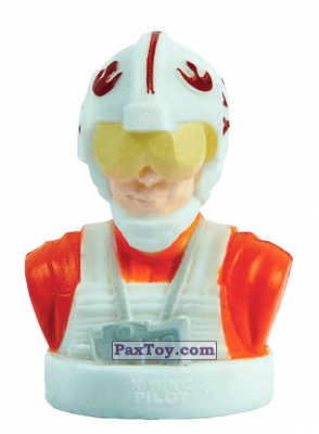 PaxToy.com - 11 X-Wing Pilot (Stempel) из Varus: Star Wars (Штампы)