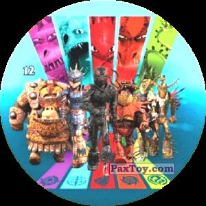 PaxToy.com - 12 All team in armor из Chipicao: Как приручить дракона 3