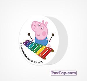 PaxToy.com - 12 Ластик из Choco Balls: Свинка Пеппа. Зима