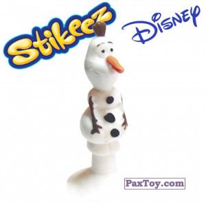 PaxToy.com - 12 Olaf из Simply Market: Disney Micro Popz (Stikeez)