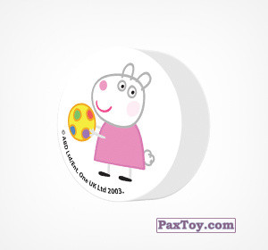 PaxToy.com - 14 Ластик из Choco Balls: Свинка Пеппа. Зима