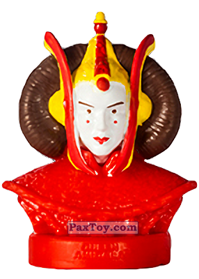 PaxToy.com  Фигурка 14 Queen Amidala из Billa: Star Wars Stempel