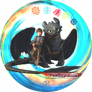 15 Hiccup & Toothless