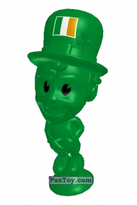 PaxToy.com - 15 Ireland из Lidl: Stikeez Fussball EM CUP 2016
