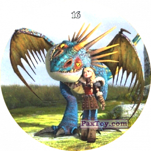 PaxToy.com - 16 Astrid & Stormfly из Chipicao: Как приручить дракона 3
