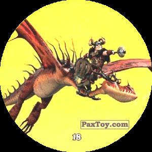 PaxToy.com - 18 Snotlout & Hookfang из Chipicao: Как приручить дракона 3