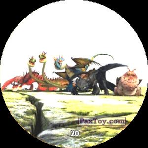 PaxToy.com - 20 All dragon team из Chipicao: Как приручить дракона 3