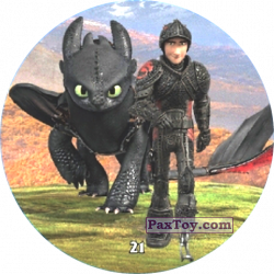 PaxToy 21 Hiccup & Toothless