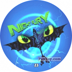 PaxToy.com - 23 Night Fury из Chipicao: Как приручить дракона 3
