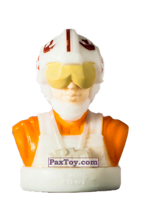 PaxToy.com - 25 X-Wing Pilot из Billa: Star Wars Stempel