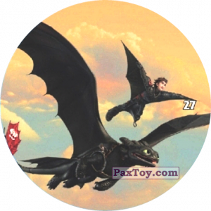 PaxToy.com - 27 Hiccup flying with Toothless из Chipicao: Как приручить дракона 3