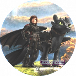 PaxToy.com - 31 Hiccup & Toothless из Chipicao: Как приручить дракона 3
