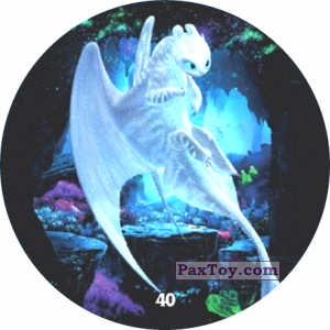 PaxToy.com - 40 Light Fury из Chipicao: Как приручить дракона 3