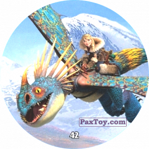 PaxToy.com - 42 Astrid & Stormfly из Chipicao: Как приручить дракона 3