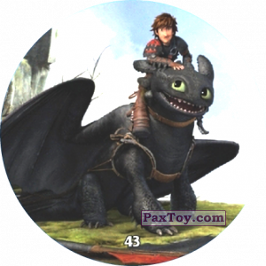 PaxToy.com - 43 Hiccup & Toothless из Chipicao: Как приручить дракона 3
