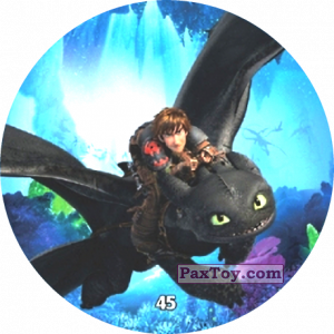 PaxToy.com - 45 Hiccup & Toothless из Chipicao: Как приручить дракона 3