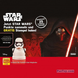 PaxToy Billa 2016 Star Wars Stempel   07