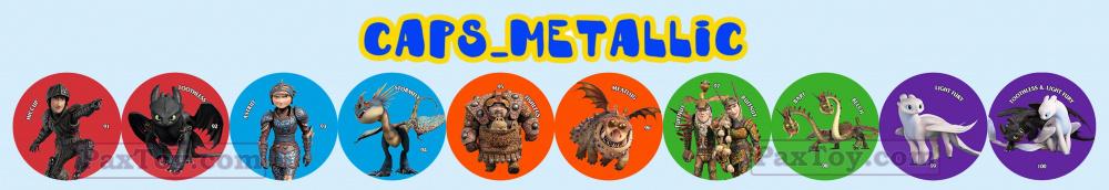 PaxToy Chipicao 2019 Как приручить дракона 3 Весь металл