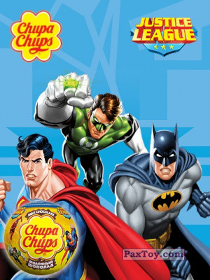 PaxToy Choco Balls   Лига Справедливости logo tax