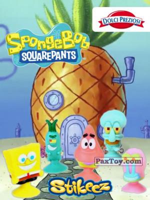 PaxToy Dolci Preziosi: SpongeBob Stikeez
