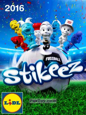 PaxToy Lidl: Stikeez Fussball EM CUP 2016