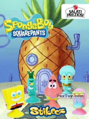 PaxToy Salati Preziosi   2015 SpongeBob Stikeez logo tax