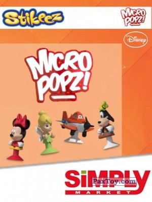 PaxToy Simply Market: Disney Micro Popz (Stikeez)