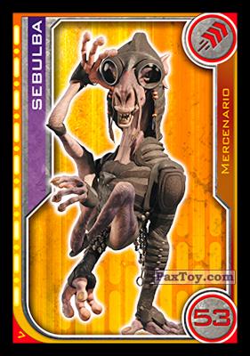 PaxToy.com - 007 Sebulba из Topps: Star Wars El Camino De Los Jedi from Carrefour