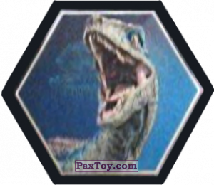 PaxToy.com - 01 Blue Velociraptor из Carrefour: Jurassic World