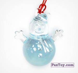 PaxToy.com - 01 Снеговик из Choco Balls: Новогодняя коллекция 2015