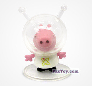 PaxToy.com - 01 Свинка Пеппа космонавт из Choco Balls: Свинка Пеппа. Профессии.