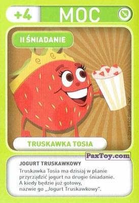 PaxToy.com - 011 Truskawka Tosia (II Sniadanie) из Biedronka: Gang Swieżaków 1 - Karty i Naklejki