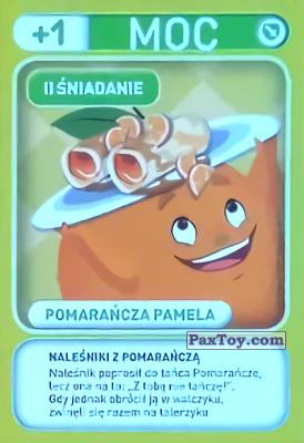 PaxToy.com - 016 Pomarancza Pamela (II Sniadanie) из Biedronka: Gang Swieżaków 1 - Karty i Naklejki