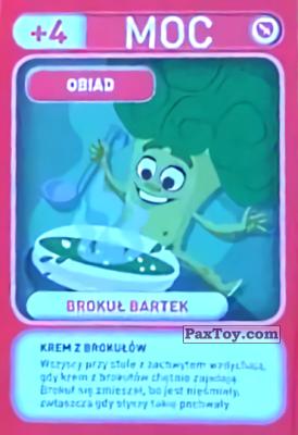 PaxToy.com - 017 Brokul Bartek (Obiad) из Biedronka: Gang Swieżaków 1 - Karty i Naklejki