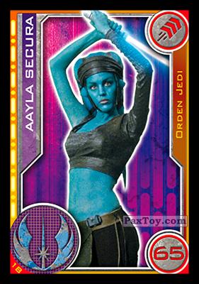 PaxToy.com - 018 Aayla Secura из Carrefour: Star Wars El Camino De Los Jedi (Cards)