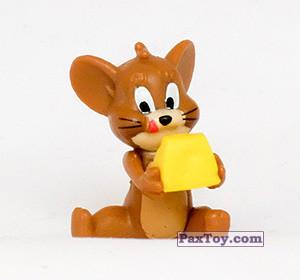 PaxToy.com - 02 Джерри и сыр (Фигурка) из Choco Balls: Том и Джерри