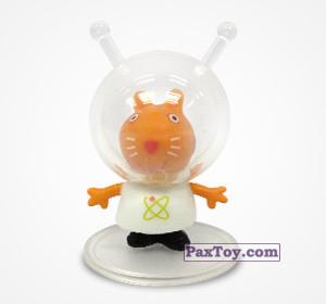 PaxToy.com - 02 Киска Кэнди космонавт из Choco Balls: Свинка Пеппа. Профессии.