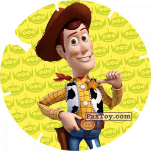 PaxToy.com - 02 - WOODY (TOY STORY) из Billa: Super Flizz 1