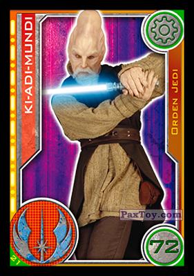 PaxToy.com - 021 Ki-Adi-Mundi из Topps: Star Wars El Camino De Los Jedi from Carrefour