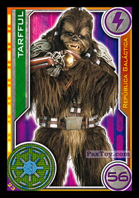 PaxToy.com - 023 Tarfful из Topps: Star Wars El Camino De Los Jedi from Carrefour