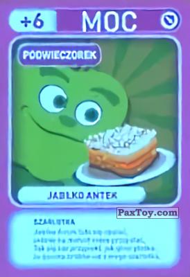 PaxToy.com - 025 Jablko Antek (Podwieczorek) из Biedronka: Gang Swieżaków 1 - Karty i Naklejki