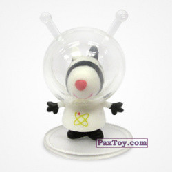 PaxToy 03 Зебра Зоя космонавт