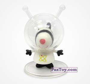 PaxToy.com - 03 Зебра Зоя космонавт из Choco Balls: Свинка Пеппа. Профессии.