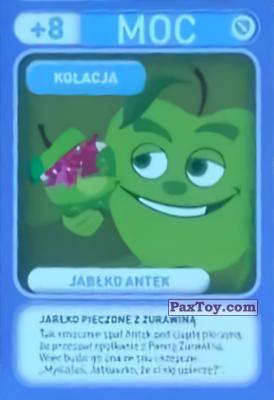 PaxToy.com - 034 Jablko Antek (Kolacja) из Biedronka: Gang Swieżaków 1 - Karty i Naklejki